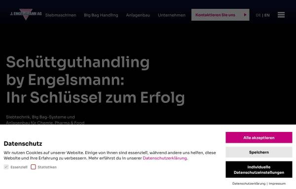 Vorschau von www.engelsmann.de, J. Engelsmann AG