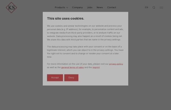 Vorschau von www.ks-tech.at, KS-Tech Kneissl & Senn Technologie GmbH