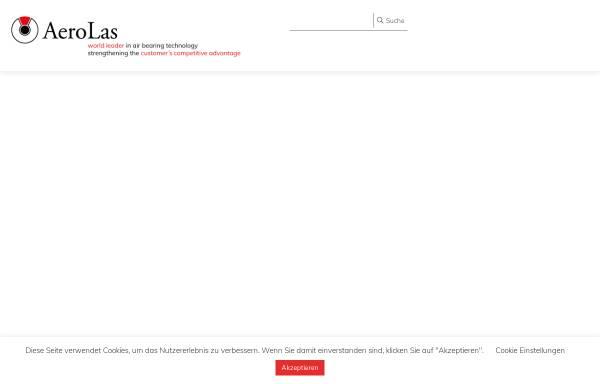 Vorschau von www.aerolas.de, AeroLas GmbH