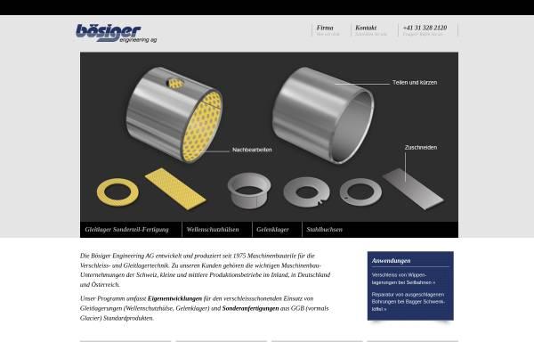 Vorschau von www.boesiger-engineering.ch, Bösiger Engineering AG