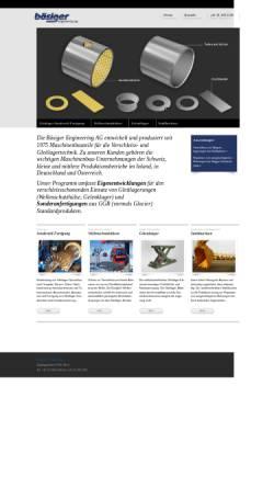 Vorschau der mobilen Webseite www.boesiger-engineering.ch, Bösiger Engineering AG