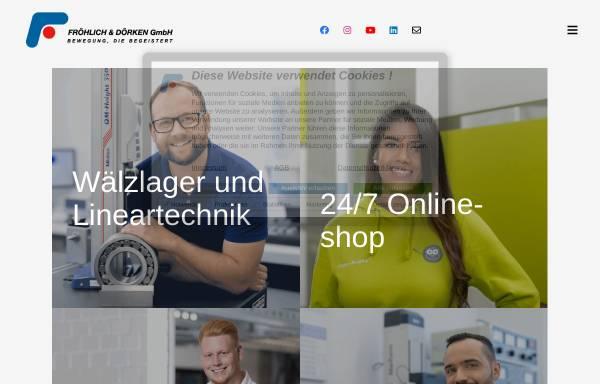 Vorschau von www.fud.center, Fröhlich & Dörken GmbH