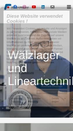 Vorschau der mobilen Webseite www.fud.center, Fröhlich & Dörken GmbH