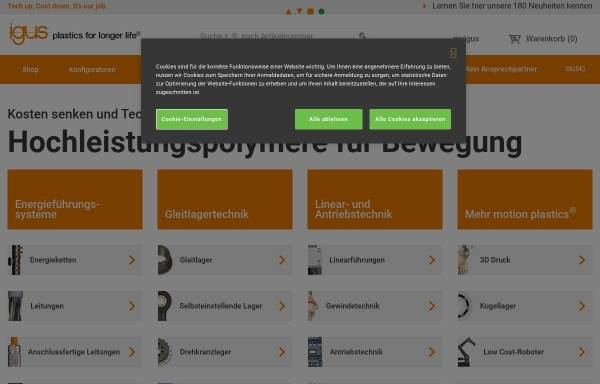 Vorschau von www.igus.de, Iglidur Gleitlager by Igus GmbH