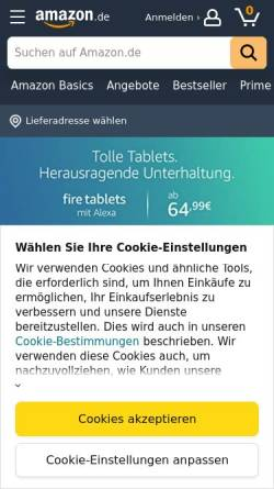Vorschau der mobilen Webseite www.amazon.de, Amazon.de GmbH