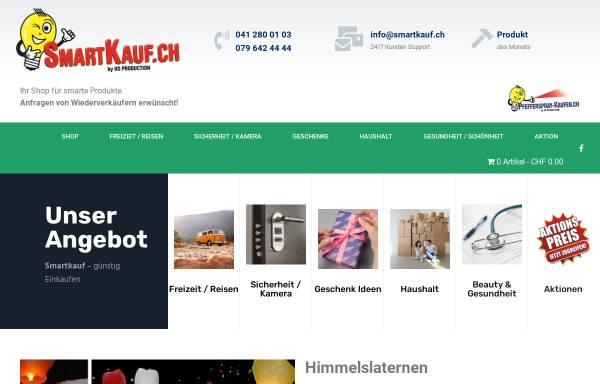 Vorschau von www.smartkauf.ch, HS Production
