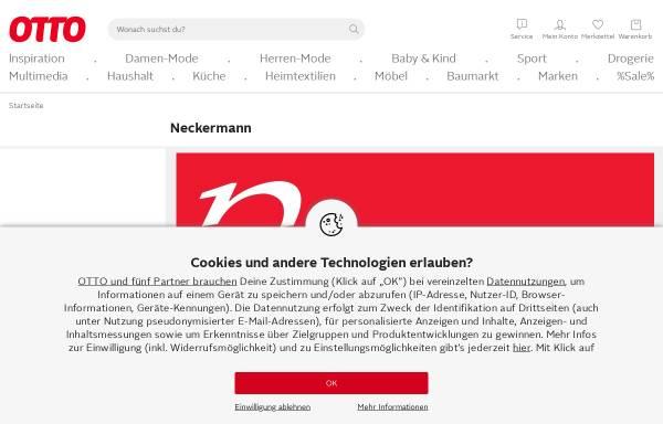 Vorschau von www.neckermann.de, Neckermann GmbH