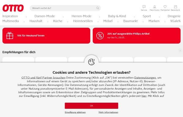 Vorschau von www.otto.de, Otto GmbH & Co KG