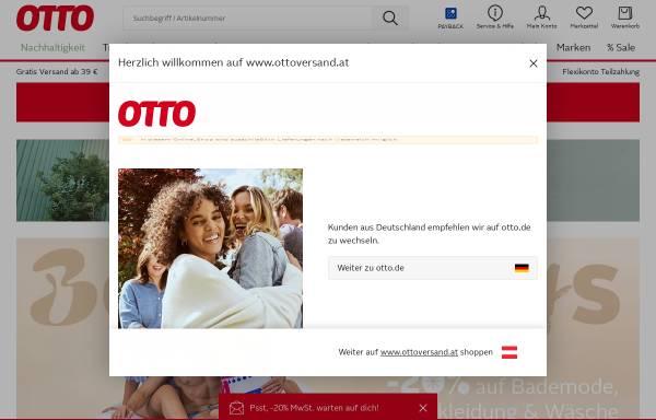 Vorschau von www.ottoversand.at, Otto Versand GmbH Österreich