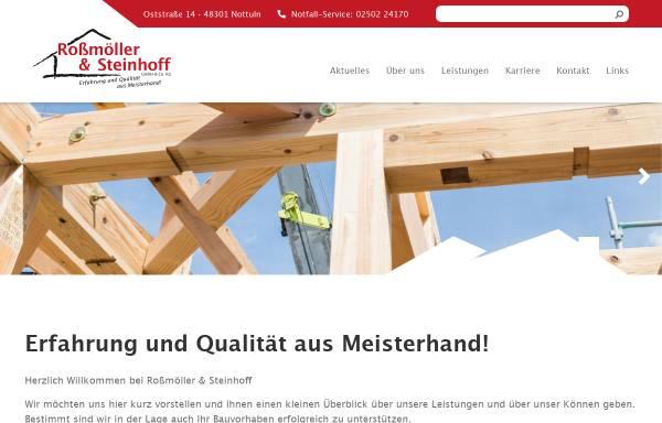 Vorschau von www.holzbau-rs.de, Albert Steinhoff GmbH