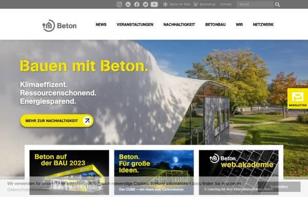 Vorschau von www.ebeton.de, eBeton