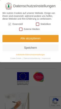 Vorschau der mobilen Webseite www.harzer-beton.com, Harzer Betonwarenwerke