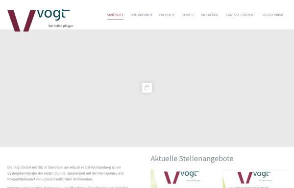Vorschau von www.vogt-gmbh.de, Vogt GmbH