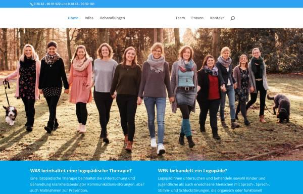 Vorschau von www.logopaedie-bachus.de, Logopädische Praxis Bachus
