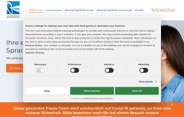 Vorschau von www.logowitten.de, Logopädische Praxisgemeinschaft im Therapiepunkt Witten