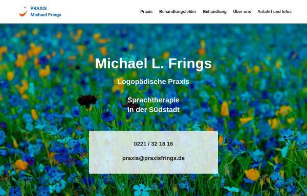 Vorschau von www.praxisfrings.de, Praxis für Stimm- und Sprachbehandlung Michael Frings