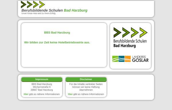 Vorschau von www.hotelfachschule-harz.de, Hotelfachschule Harz