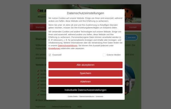 Vorschau von www.oere-bio-protect.de, Öre Bio-Protect - Biologischer Pflanzenschutz GmbH