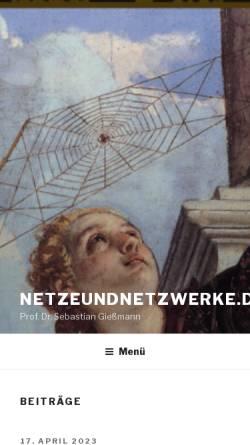 Vorschau der mobilen Webseite www.sebastiangiessmann.de, Giessmann, Sebastian