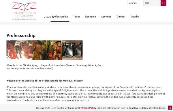 Vorschau von www.hsu-hh.de, Selzer, Prof. Dr. Stephan