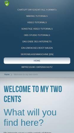 Vorschau der mobilen Webseite www.johannesholstein.de, Johannes Holstein
