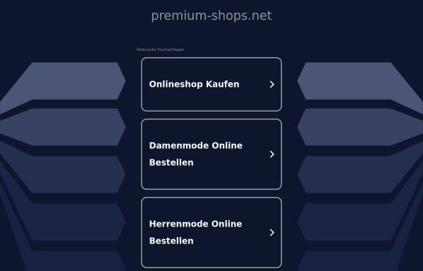 Vorschau von www.premium-shops.net, Premium Shops