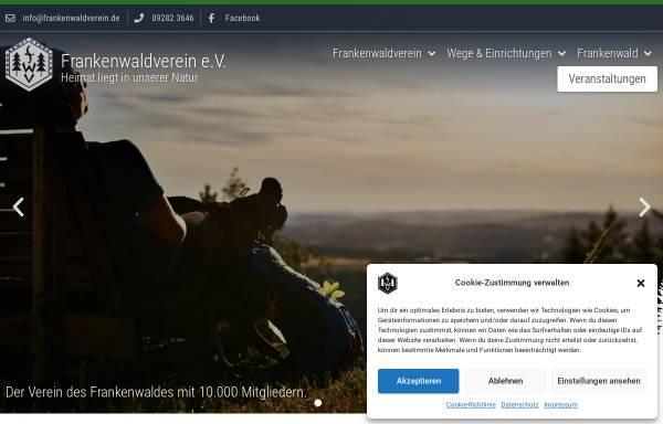 Vorschau von frankenwaldverein.de, Frankenwaldverein