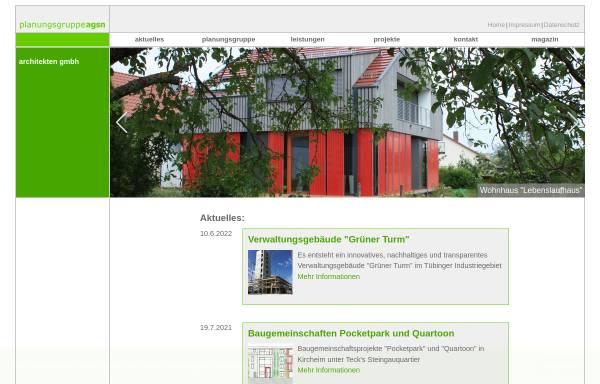 Vorschau von www.agsn.de, Architectural Green Solar Network