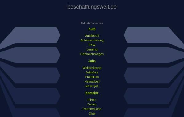 Vorschau von www.beschaffungswelt.de, Beschaffungswelt by Explido Sourcing & Services GmbH & Co. KG