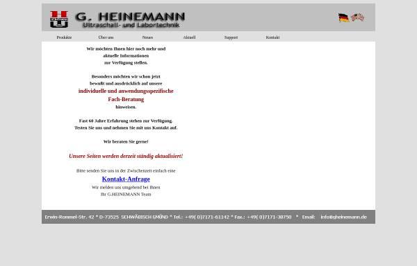 Vorschau von www.gheinemann.de, G.Heinemann