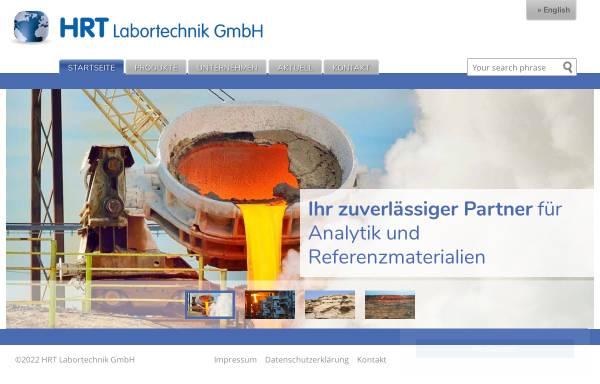 Vorschau von www.hrt-labortechnik.de, HRT Labortechnik GmbH