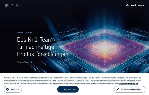 Vorschau von www.kurtz.de, Kurtz Holding GmbH & Co.