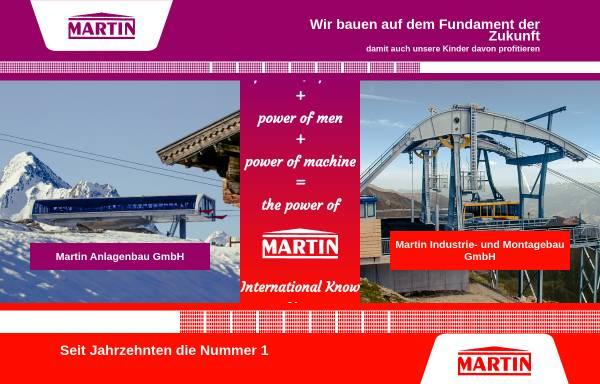 Vorschau von www.martin-austria.at, Martin Anlagenbau und Produktionsges.m.b.H. und Martin Industrie Montagebau GmbH