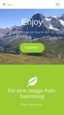 Vorschau der mobilen Webseite www.reiterer.com, Arland Technologies GmbH