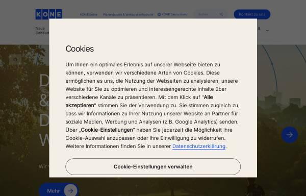 Vorschau von www.kone.de, Kone GmbH