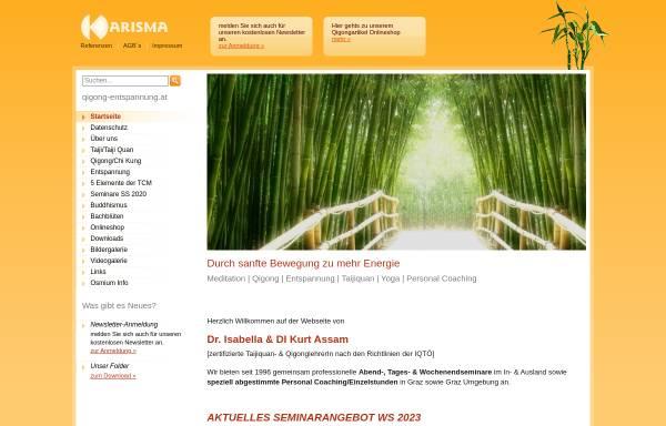 Vorschau von www.qigong-entspannung.at, Karisma