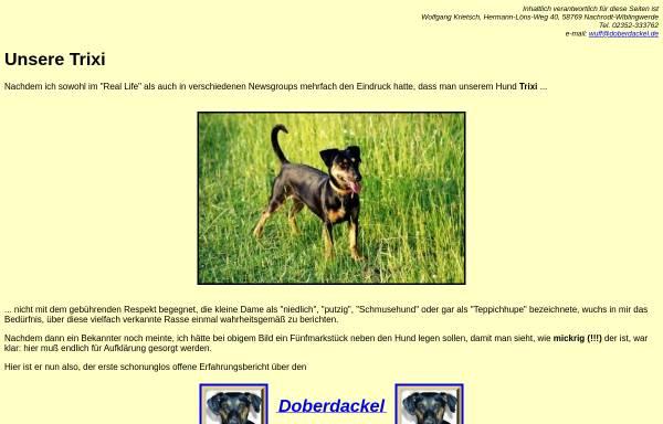 Vorschau von www.doberdackel.de, Doberdackel