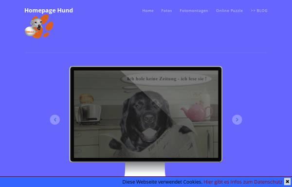 Vorschau von www.homepage-hund.de, Homepage Mona Hund