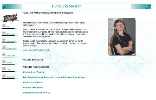 Vorschau von www.hund-und-mensch.mailkasten.de, Hund und Mensch
