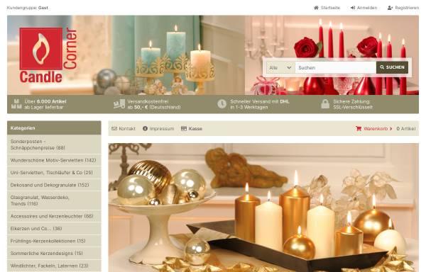 Vorschau von www.candlecorner.de, Candle Corner.de