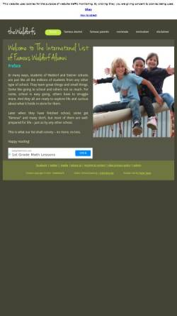 Vorschau der mobilen Webseite www.diewaldorfs.waldorf.net, DieWaldorfs
