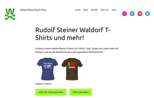 Vorschau von www.waldorfbazar.de, Waldorfbazar