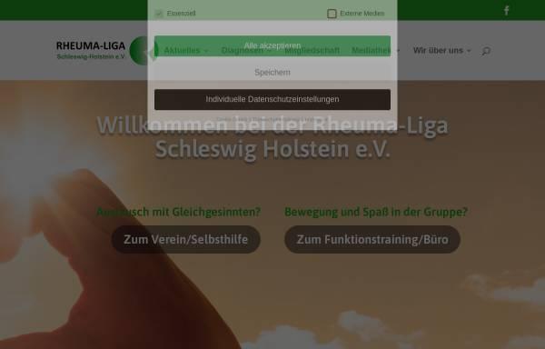 Vorschau von rlsh.de, Deutsche Rheuma-Liga Schleswig-Holstein e.V.