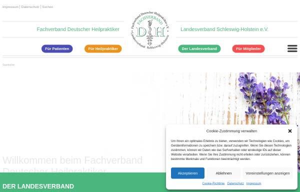 Vorschau von www.fdh-sh.de, Fachverband Deutscher Heilpraktiker Landesverband Schleswig-Holstein e. V.