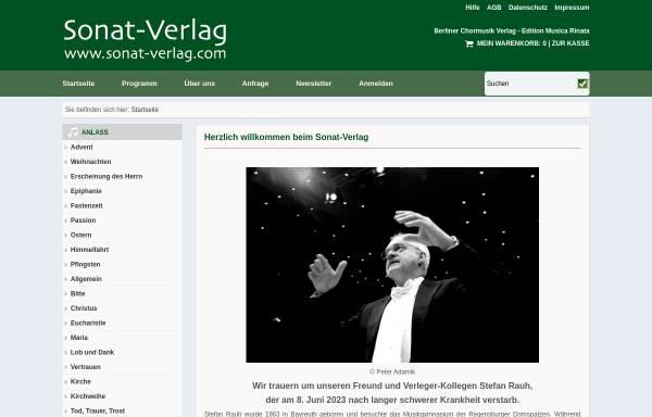 Vorschau von www.musica-rinata.de, Edition Musica Rinata