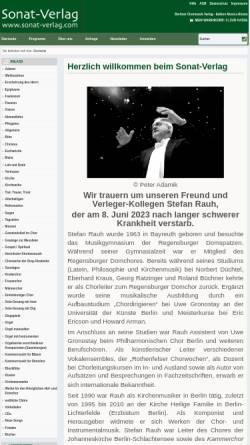 Vorschau der mobilen Webseite www.musica-rinata.de, Edition Musica Rinata