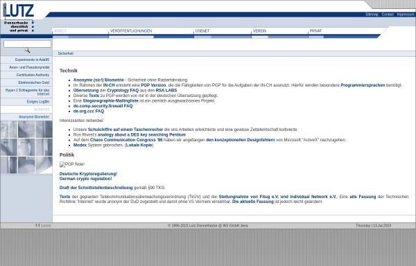 Vorschau von www.iks-jena.de, Sicherheit