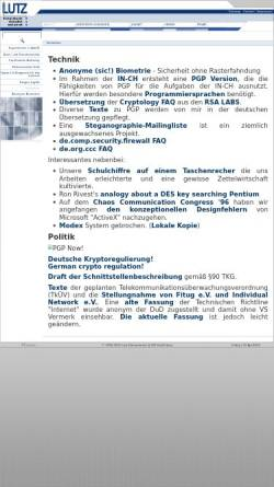 Vorschau der mobilen Webseite www.iks-jena.de, Sicherheit