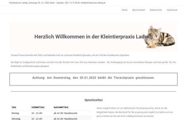 Vorschau von tierarzt-spandau.de, Christoph Ladwig