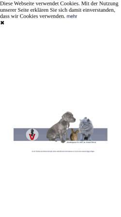 Vorschau der mobilen Webseite www.kleintierpraxis-haltern.de, Dr. med. vet. Kirsten Olivier